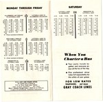 21 Danforth Timetable, July 30, 1965, page 1