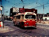CCF coach 9109 enters Dundas West Station. Photo donated by Brad O'Brien